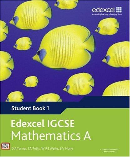 Edexcel-IGCSE-Mathematics-A-Student-Book-1-Edexcel-by-Hony-B-V-043596691X