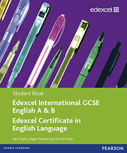 Edexcel International GCSE English A & B Student Book with ActiveBook CD by Pam Taylor