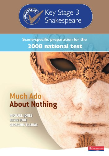 Success in Key Stage 3 Shakespeare 2008: Much Ado About Nothing By Michael Jones