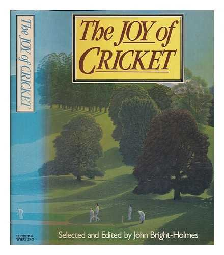 Joy of Cricket Hardback Book The Fast Free Shipping