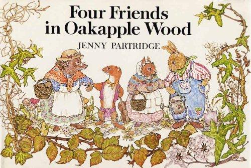 Four Friends in Oakapple Wood By Jenny Partridge