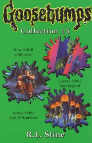 Goosebumps Collection 15 By R. L. Stine