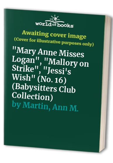 Babysitters Club Collection 16 By Ann M. Martin