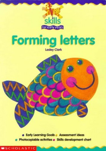 Forming Letters By Lesley Clark