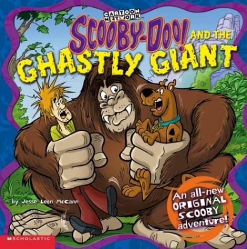 Scooby Doo & Ghastly Gia 8x8#4 By Jesse Mccann