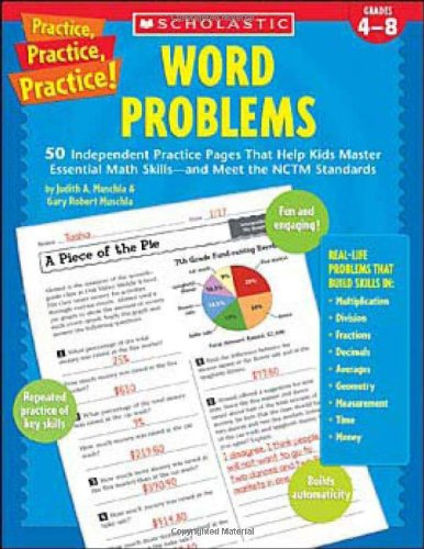 Word Problems By Judith A Muschla (East New Brunswick, New Jersey East Brunswick, New Jersey East Brunswick, New Jersey East Brunswick, New Jersey East Brunswick, New Jersey East Brunswick, New Jersey East Brunswick, New Jersey East Brunswick, New Jersey East Brunswick, New Jersey)