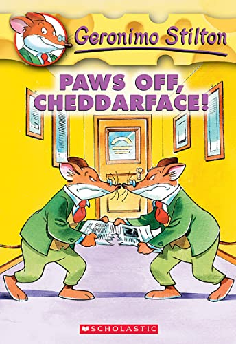 Paws Off Cheddarface! By Geronimo Stilton