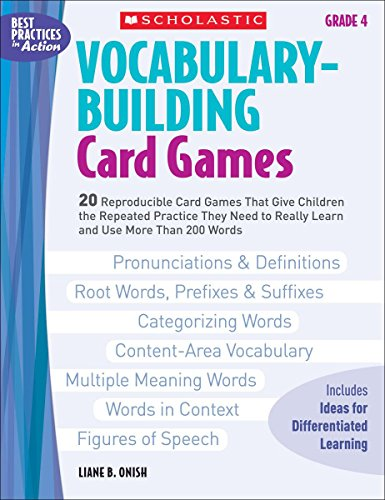 Vocabulary-Building Card Games By Liane Onish