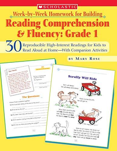 Week-By-Week Homework for Building Reading Comprehension & Fluency: Grade 1 By Mary Rose (Lancaster University UK)