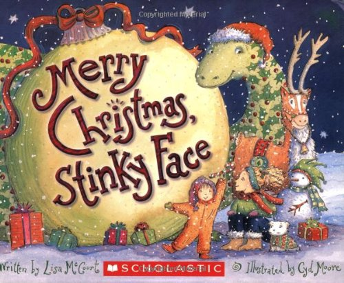 Merry Christmas Stinky Face By Lisa McCourt