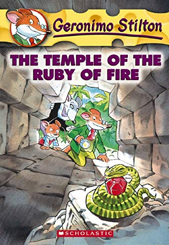 The Temple of the Ruby of Fire by Geronimo Stilton