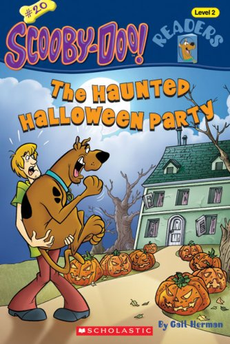 Scooby-Doo Reader #20: Haunted Halloween Party (Level 2) By Gail Herman