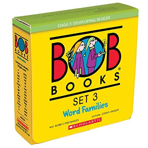 Bob Books Set 3: Word Families By John Maslen