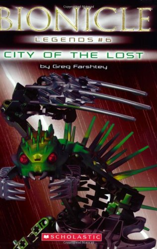 City of the Lost By Greg Farshtey