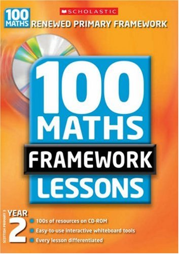 100 New Maths Framework Lessons for Year 2 by Caroline Clissold