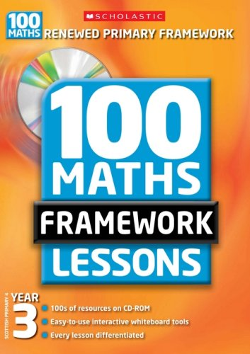 100 New Maths Framework Lessons for Year 3 by Ann Montague-Smith