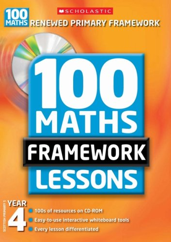100 New Maths Framework Lessons for Year 4 by Ann Montague-Smith