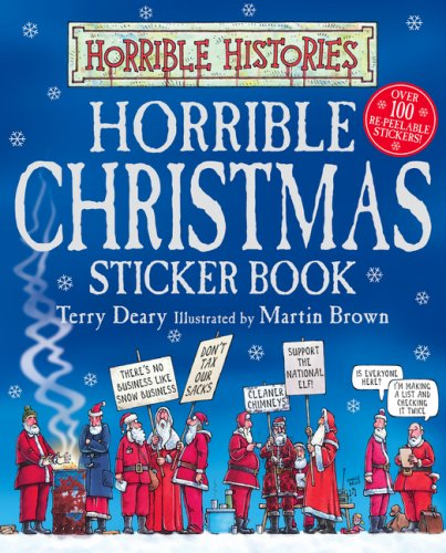 Horrible Christmas Sticker Book By Terry Deary