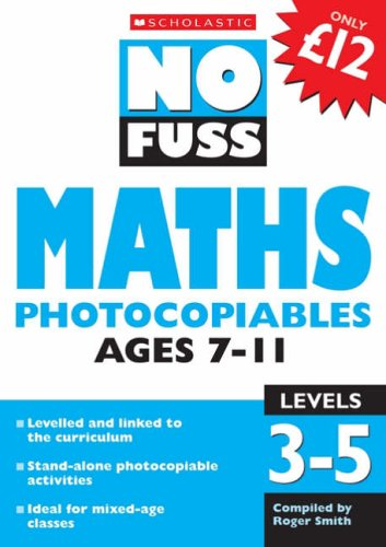 Maths Photocopiables Ages 7-11 By VARIOUS