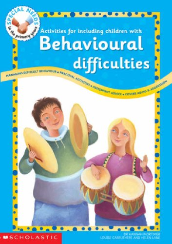Activities for Including Children with Behavioural Difficulties By Hannah Mortimer