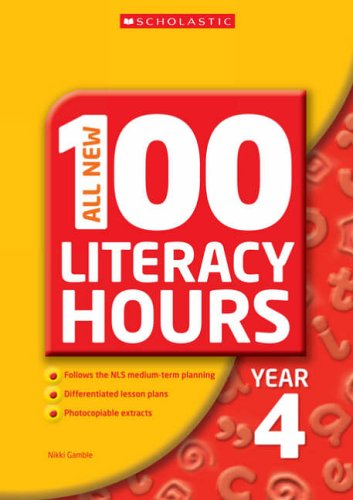 All New 100 Literacy Hours - Year 4 By Janet Perry