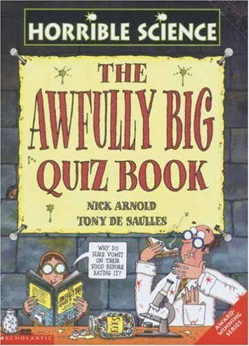 The Awfully Big Quiz Book By Nick Arnold