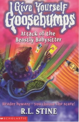 Attack of the Beastly Babysitter By R. L. Stine