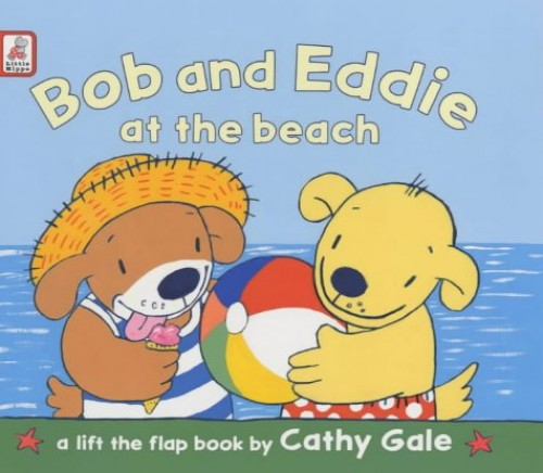 Bob and Eddie at the Beach (Bob & Maidie) By Cathy Gale