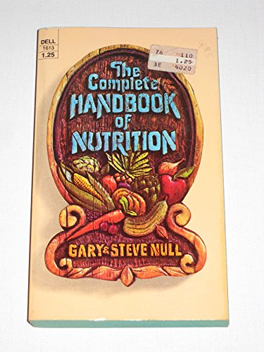 Handbk of Nutrition By Gary Null, Ph.D.