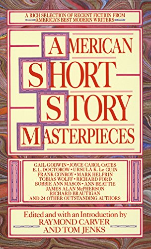 American Short Story Masterpieces by Raymond Carver