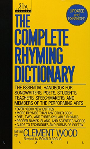 Complete Rhyming Dictionary By Clement Wood