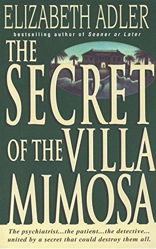 Secret Of The Villa Mimosa By Elizabeth Adler