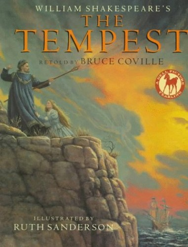 William Shakespeare's Book the Tempest By Bruce Coville