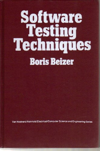 Softwr Testing Techniques By Boris Beizer