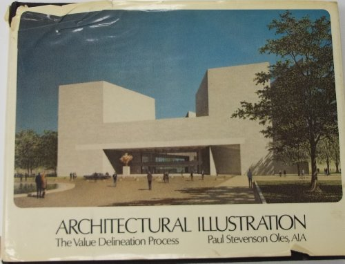 Picture Book Illustration Making An Architectural Model: Architectural Illustration: Value Delineation Process By