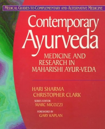 Contemporary Ayur Veda By H. Sharma