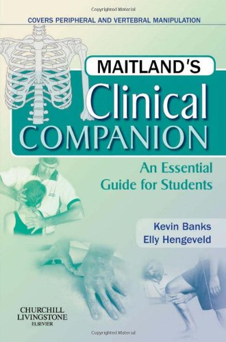 Maitland's Clinical Companion By Kevin Banks