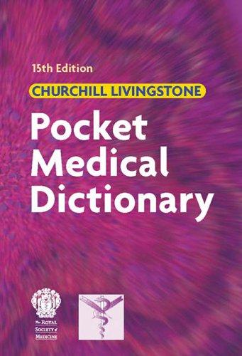 Pocket Medical Dictionary By Chris Brooker