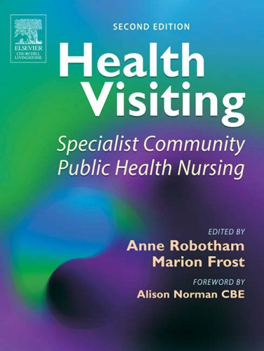 Health Visiting By Anne Robotham
