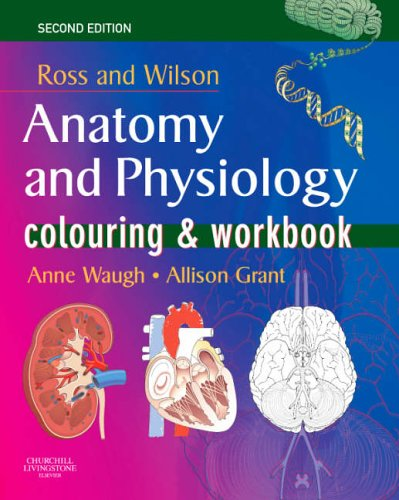 Ross and Wilson's Anatomy and Physiology Colouring and Workbook by Anne Waugh