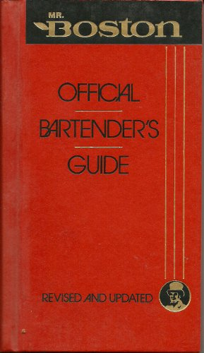 Mr Boston Official Bartender's Guide By Time Warner Electronic Publishing