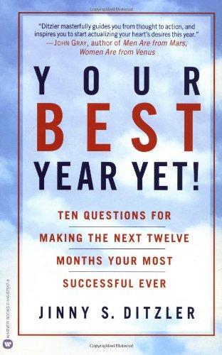 Your Best Year Yet By Jonny S. Ditzler