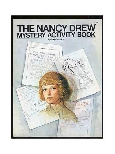Nancy Drew Mystery Activity Book By Tony Tallarico