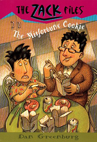 Zack Files 13: The Misfortune Cookie By Dan Greenburg