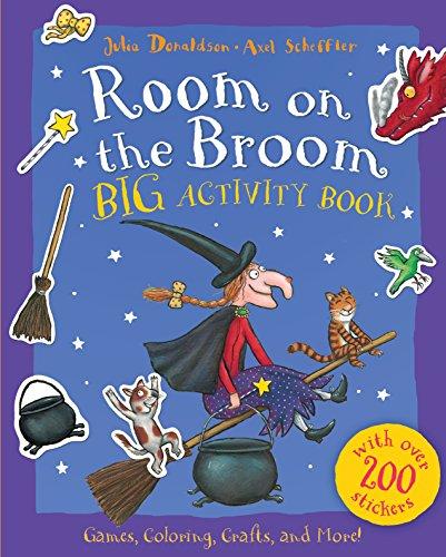 Room on the Broom Big Activity Book von Julia Donaldson