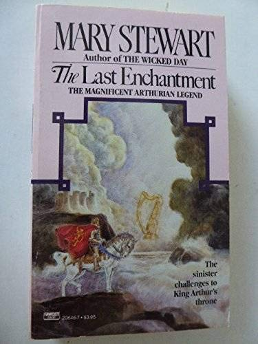 The Last Enchantment By Mary Stewart Used Good border=