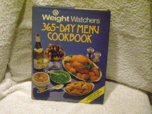 Weight-watchers' 365 Day Menu Cook Book By Weight Watchers