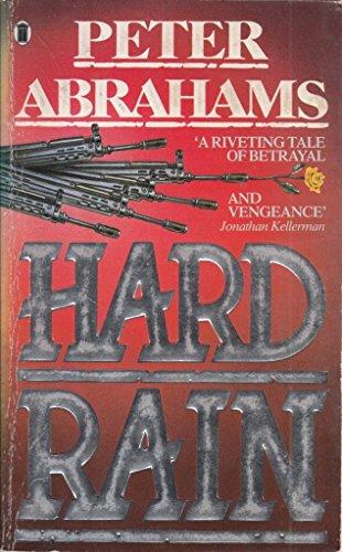 Hard Rain By Peter Abrahams