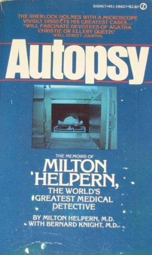 Autopsy By Milton Helpern