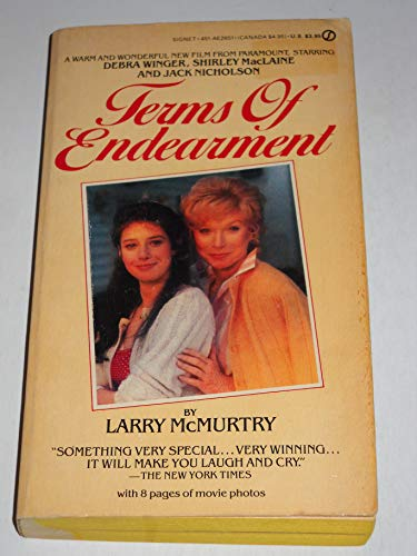 Mcmurtry Larry : Terms of Endearment By Larry McMurtry